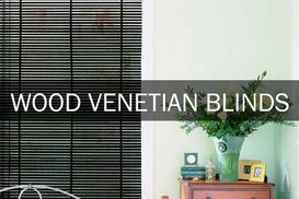 Wooden Venetian Blinds Scarborough
